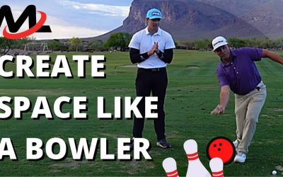 Create Space Like A BOWLER For The Arms And Golf Club To Travel [Athletics Series]