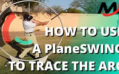 Master The Golf Swing PLANE Where It Counts By Tracing The Arc (PlaneSwing Tutorial)