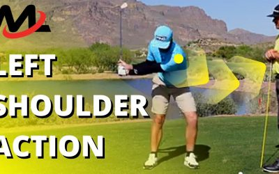 Move the Left Shoulder Down and Around to Rotate on Plane