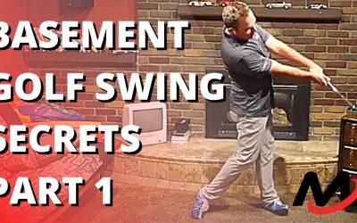Golf Swing SECRETS From Milo's Utah Basement | Part 1