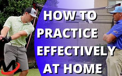 How To Practice Your Golf Swing Effectively At Home   Building An Athletic Action
