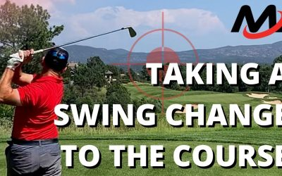 How To Play Golf During A Swing Change | Practice Process And Scoring